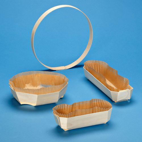 Vaschette E Cerchi In Legno