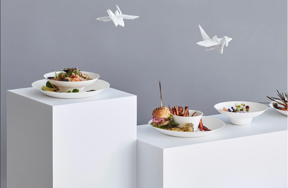 tavola sostenibile e bella