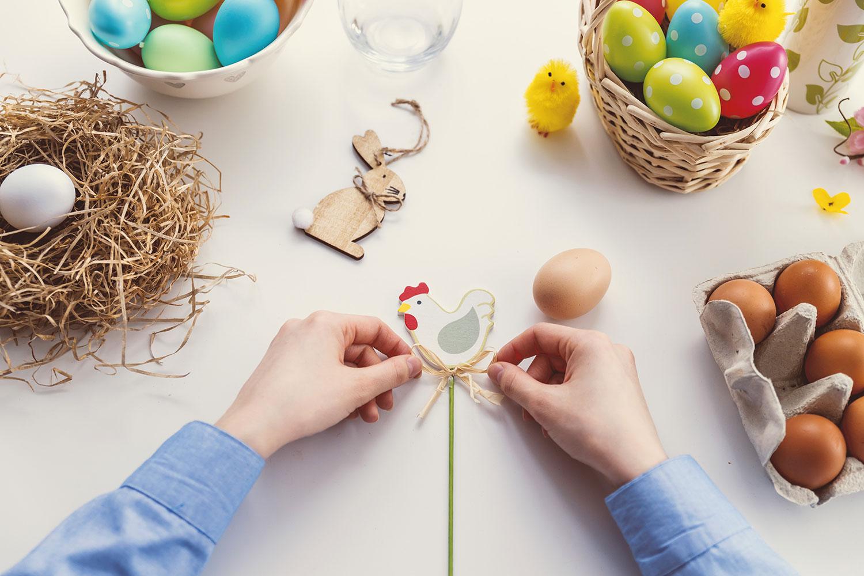riciclare carta uovo di Pasqua